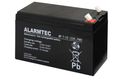 BP7-12 Akumulator 7Ah/12V ALARMTEC/BP