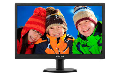 Monitor Philips 203V5LSB26/10, 19,5'', 5ms, czarny
